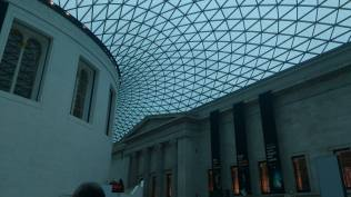 The British Museum in Blue