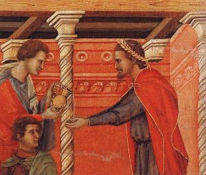 565px-Duccio_di_Buoninsegna_-_Pilate_Washing_his_Hands_(detail)_-_WGA06810