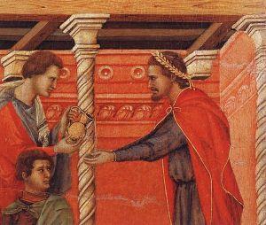 565px-Duccio_di_Buoninsegna_-_Pilate_Washing_his_Hands_(detail)_-_WGA06810